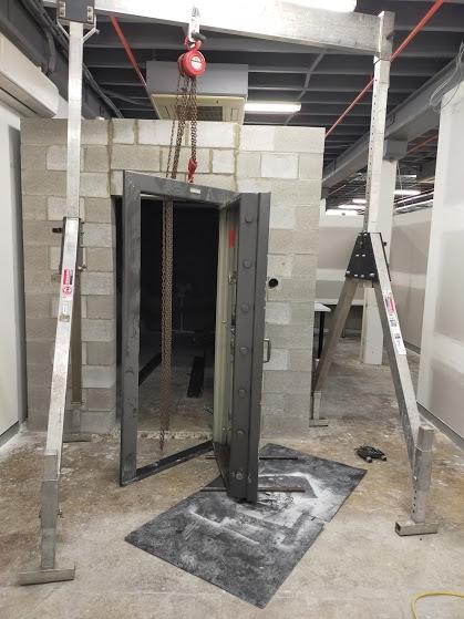 Strongroom installation